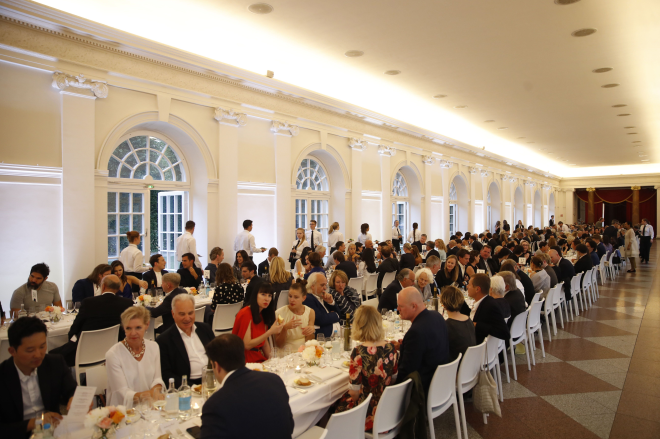 Dinner in der Orangerie Schloss Charlottenburg