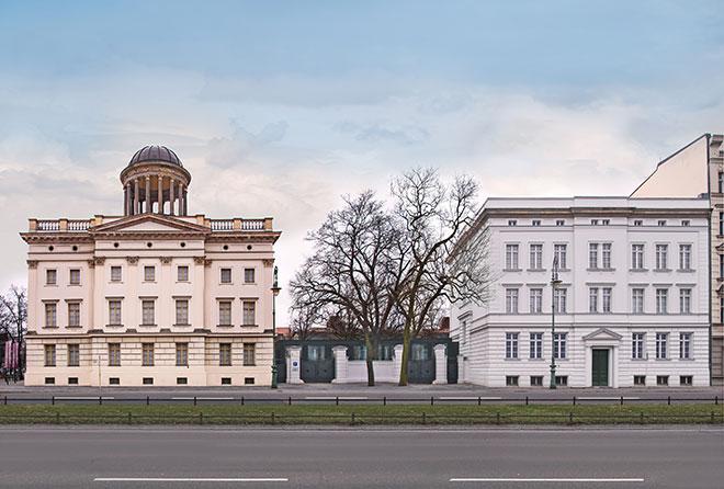 Museum Berggruen: Stülerbau & Kommandantenhaus. Photo: HC Krass