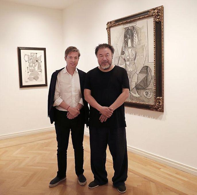 Nicolas Berggruen, Ai Weiwei