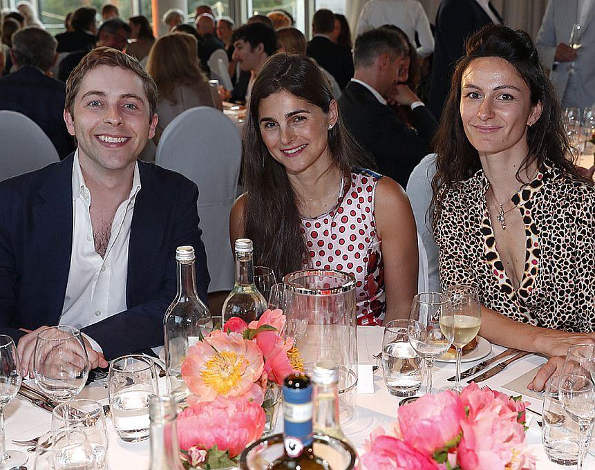 Alex Berggruen, Brooke Lampley, Constance Bréton