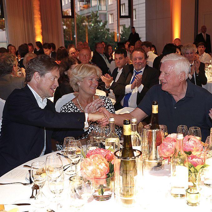 Nicolas Berggruen, Staatsministerin Monika Grütters, Friedrich Christian Flick